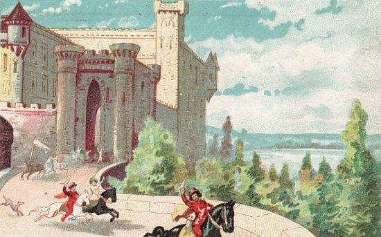 Le château féodal