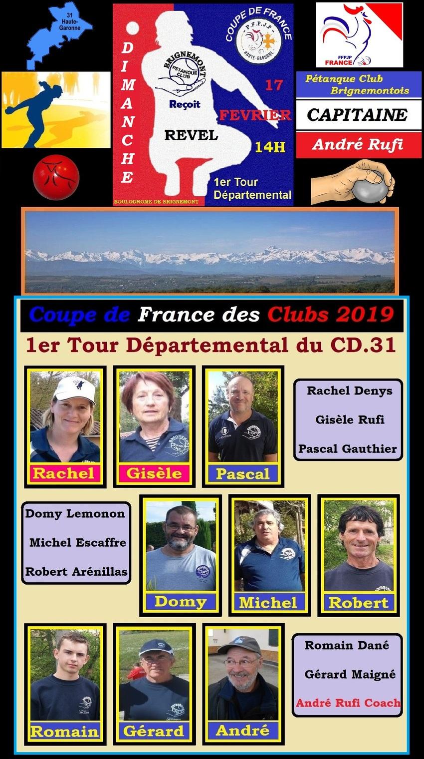 1er Tour Départemental du CD.31