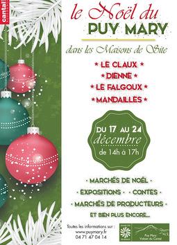 Le Claux : le Noël du Puy Mary