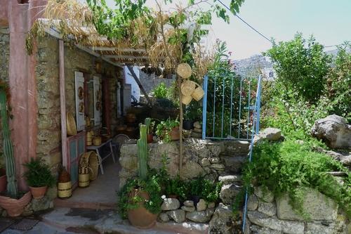 Tinos : le village de Volax