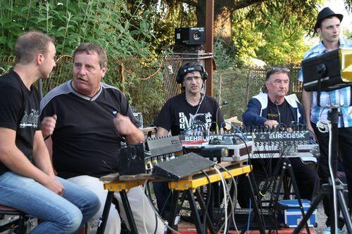 photos Bouscaillous fête musique 22 juin 2013