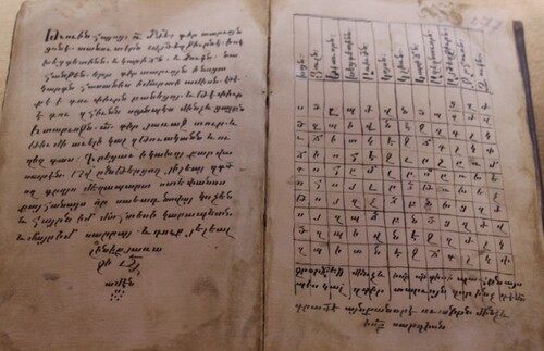 La langue arménienne, Machtots et le Matenadaran