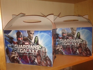 gardiens de la galaxie anniversaire lunch box
