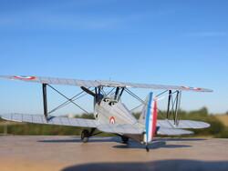 STAMPE SV-4C de la PATROUILLE D'ETAMPES