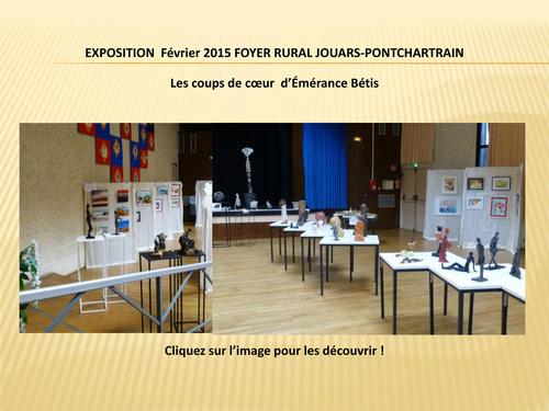 Exposition 2015 du Foyer Rural de Jouars-Pontchartrain