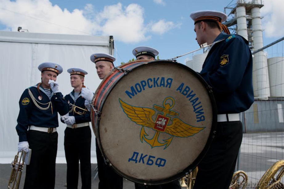 Les musiciens de la marine russe