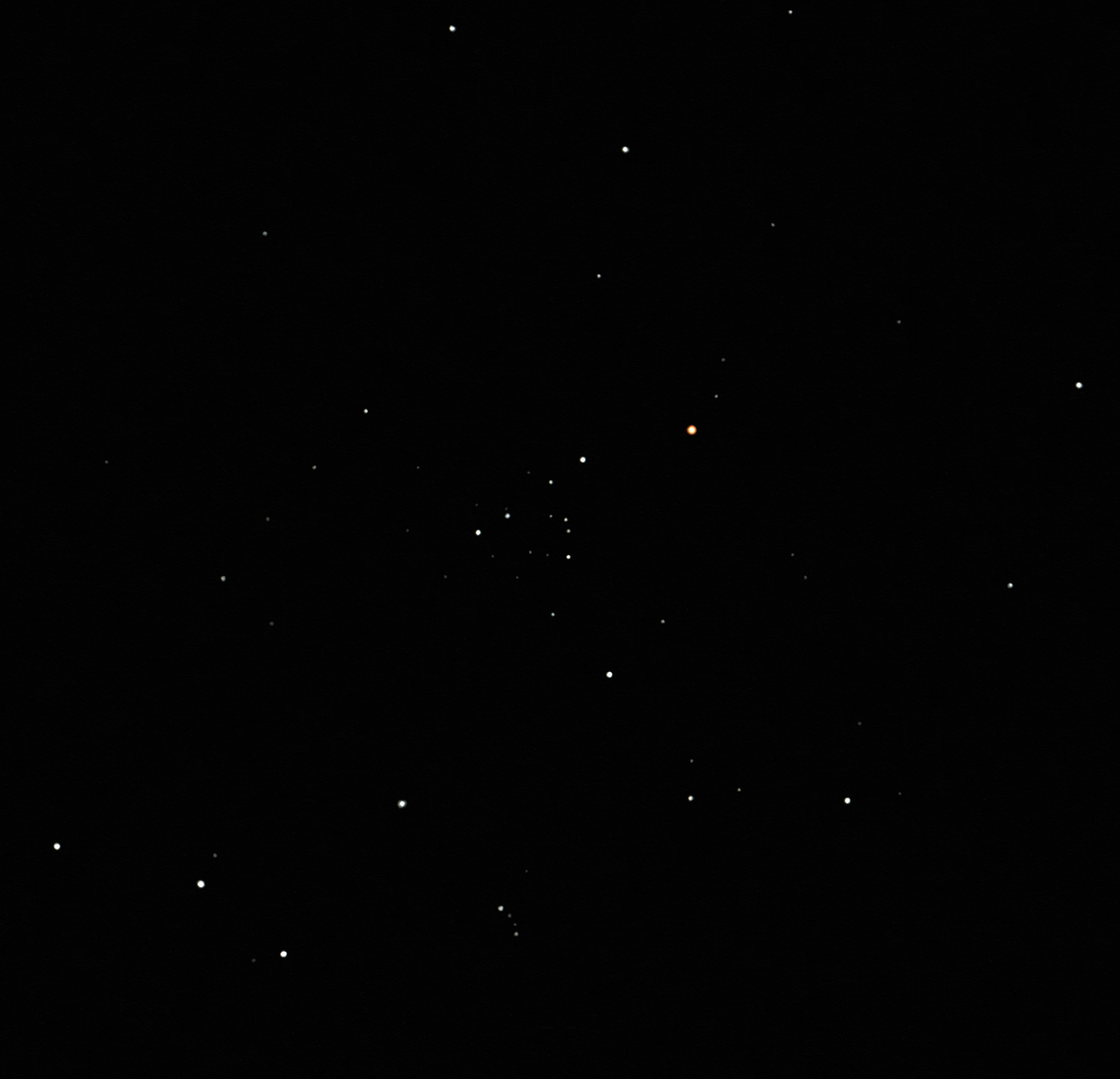 ngc 743 open cluster