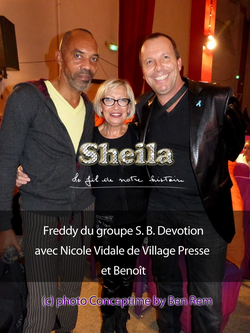 22/23 novembre 2013, Marseille : FREDDY IS BACK...DEVOTION !!!