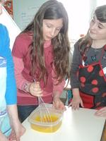 Le projet cuisine de l'école!