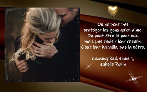 Chasing Red, tome 1, Isabelle Ronin