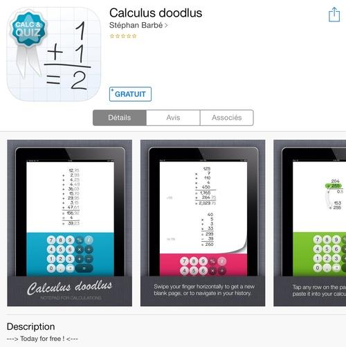 [appli] Calculus Doodlus