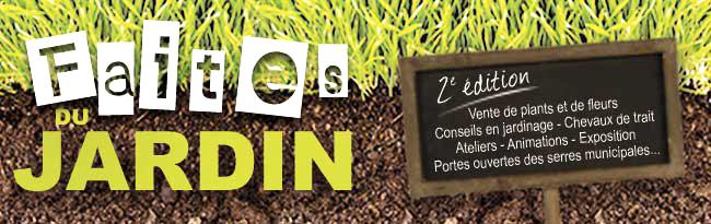 «Faites du jardin», à Saint-Amand les Eaux le 5 mai