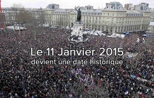 """* 11 Janvier 2015 : """" Un de ces miracles de la conscience nationale"""""""