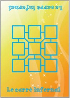 plateau du jeu le carré infernal : les compléments à 10