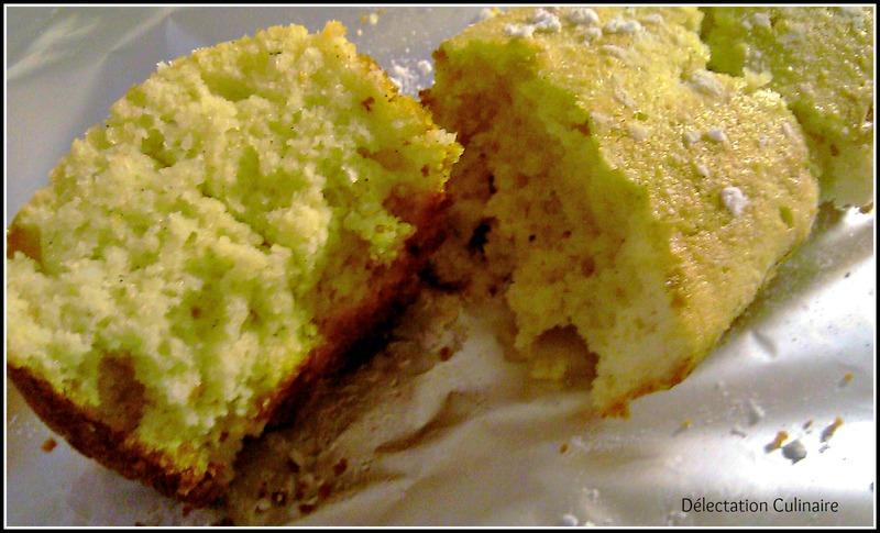 Cake amande-vanille sans gluten très moelleux