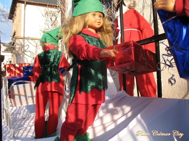 Au temps des Marchés de Noël :  Maison décorée