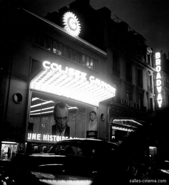 Box-office du Colisée - De 1934 à 1942