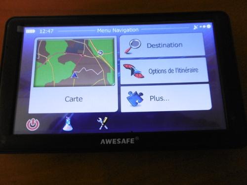 GPS 7 pouces AWESAFE