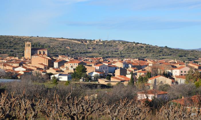 Le village de Baixas 66 (janvier 2016)