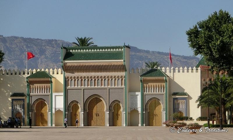 Palais du Roi du Maroc à Fès