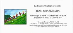 Exposition à la galerie Thuillier
