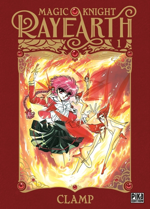 Magic knight Rayearth - Tome 01 - Clamp