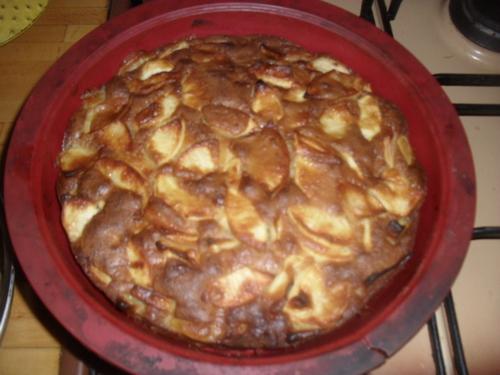 une gâteau au pomme pour un dessert simple et moelleux