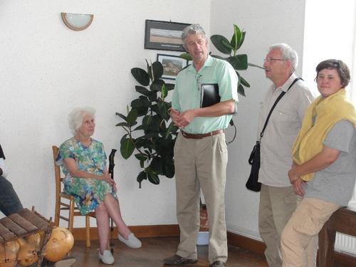 La visite surprise de Maisey le Duc
