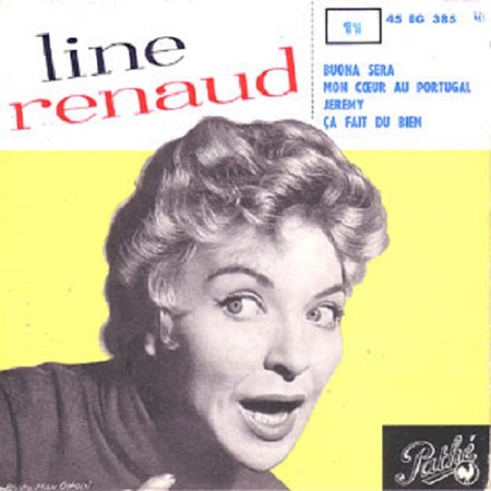 Line Renaud, 1958