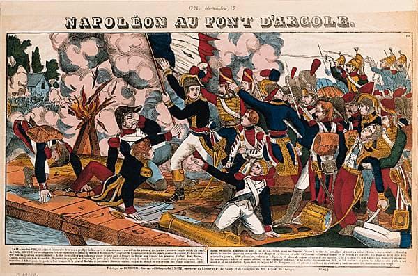 Napoléon au pont d'Arcole