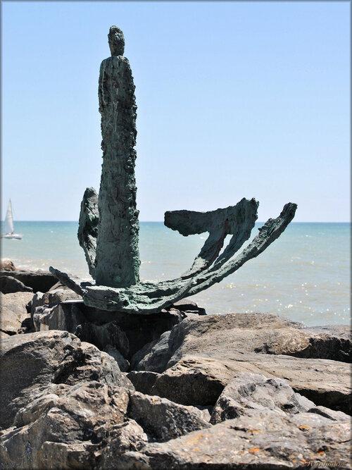 Photo du monument la dame de Bourgenay (Vendée)