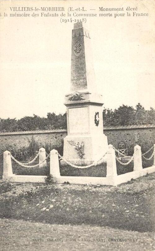 Les poilus, morts en 1914/18