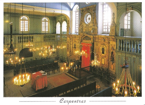 La synagogue de Carpentras