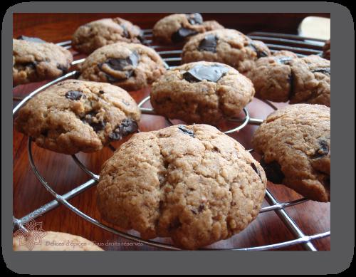 Cookies complets à la vanille et au chocolat