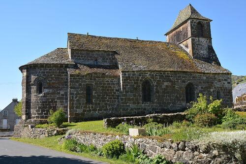 Saint-Hippolyte : la toiture de l'église restaurée