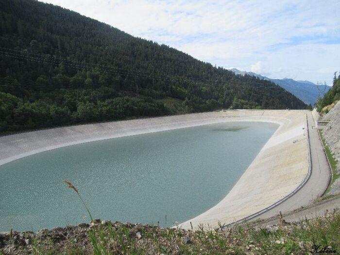 Balade au barrage de la Coche
