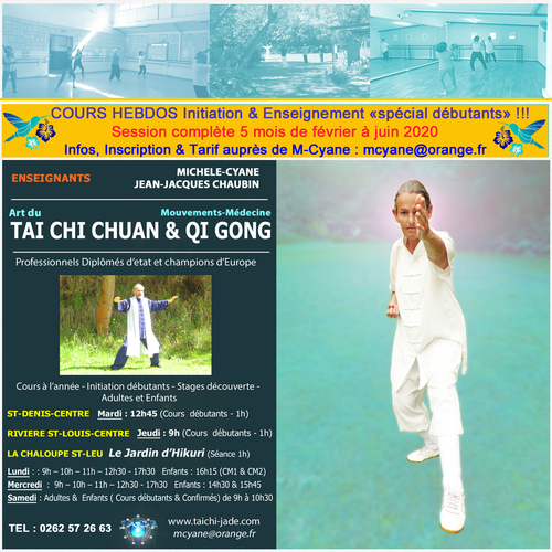 5 sessions TaiChi & QiQong - Janvier 2020