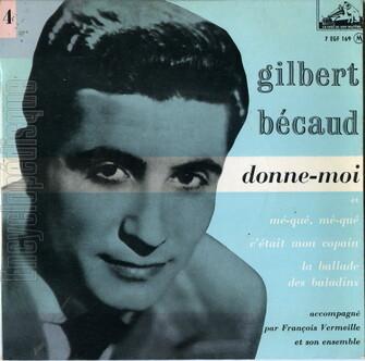 Gilbert Bécaud, 1955