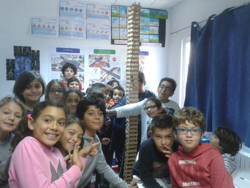 La tour la plus haute de....l'école!