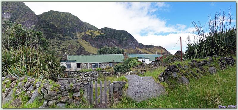 Quelques vues du petit village - Edinburgh of the Seven Seas - Tristan da Cunha