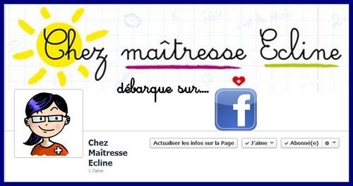 Maîtresse Ecline débarque sur Facebook...