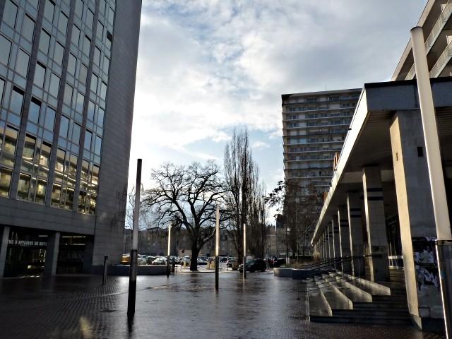 Place des Charrons 3 Metz février 2010