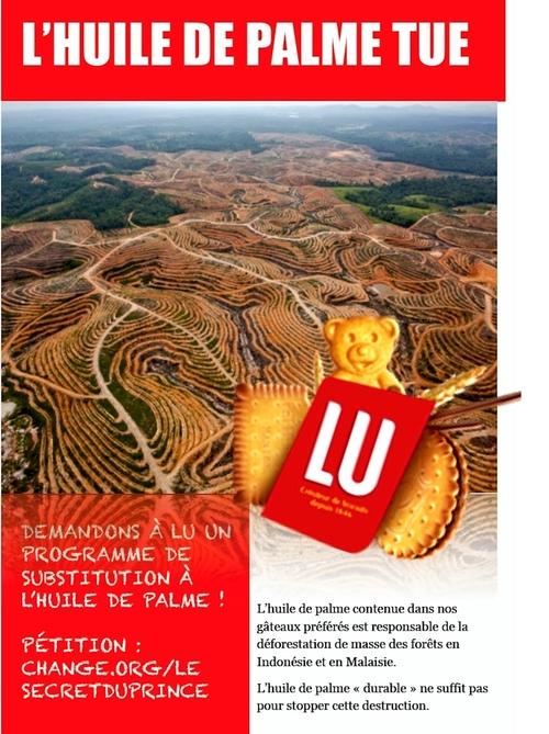 Le scandale de l'huile de palme
