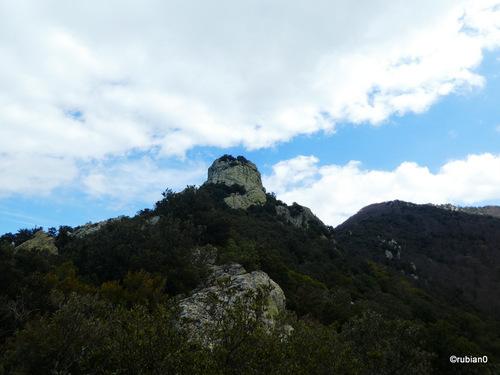 Le roc de Las Médes