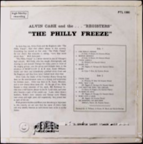 """1966 : Album """" The Philly Freeze """" President Records PTL 1000 [ UK ]"""