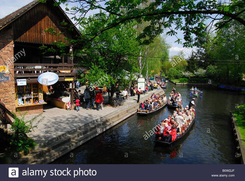 Real Life Fairy Tale Village in Germany. Spreewald (Voyages)