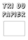 télécharger affiche pour tri du papier
