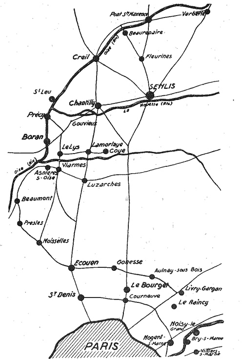 Le repli sur la Marne et la seine