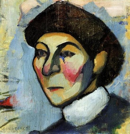 Sonia Delaunay, Portrait de philomène