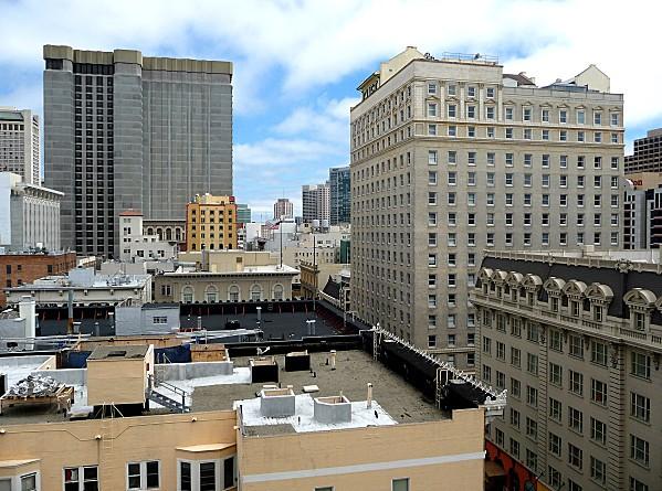 San Francisco vue de la chambre